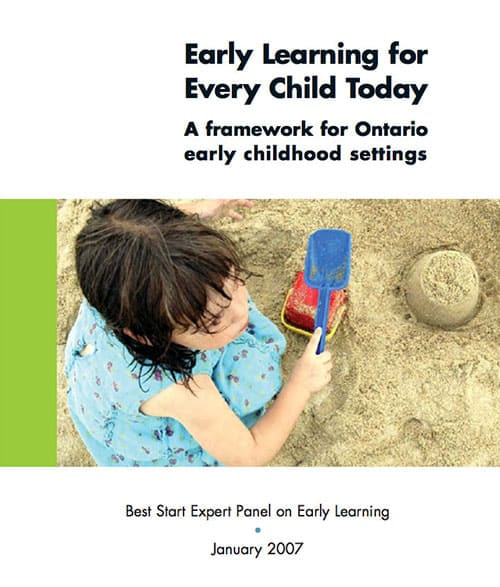 Early Learning For Every Child Today